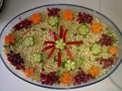 Kus kus salatası
