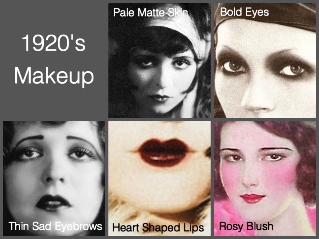 ... Blog: 1920u0026#39;s Makeup, Hair u0026 Fashion: Information u0026 Makeup Tutorial