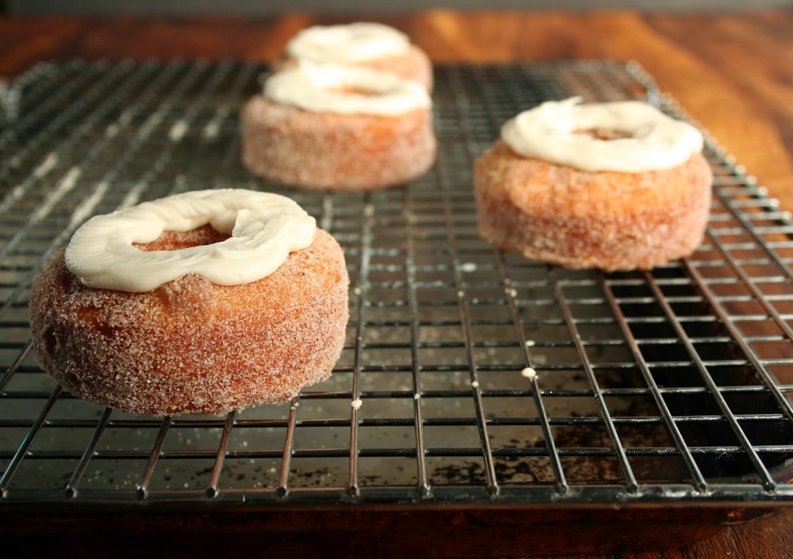 Vanilla Chai Cream Croughnuts