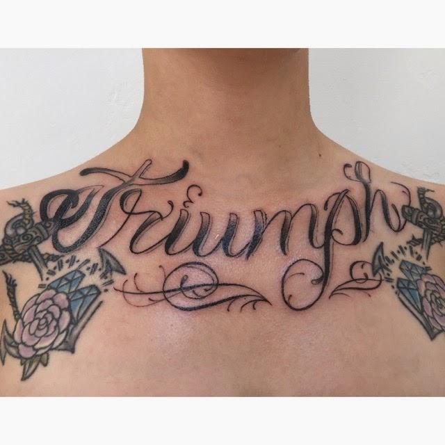 Chelsey Sidler-Lartey tattoos