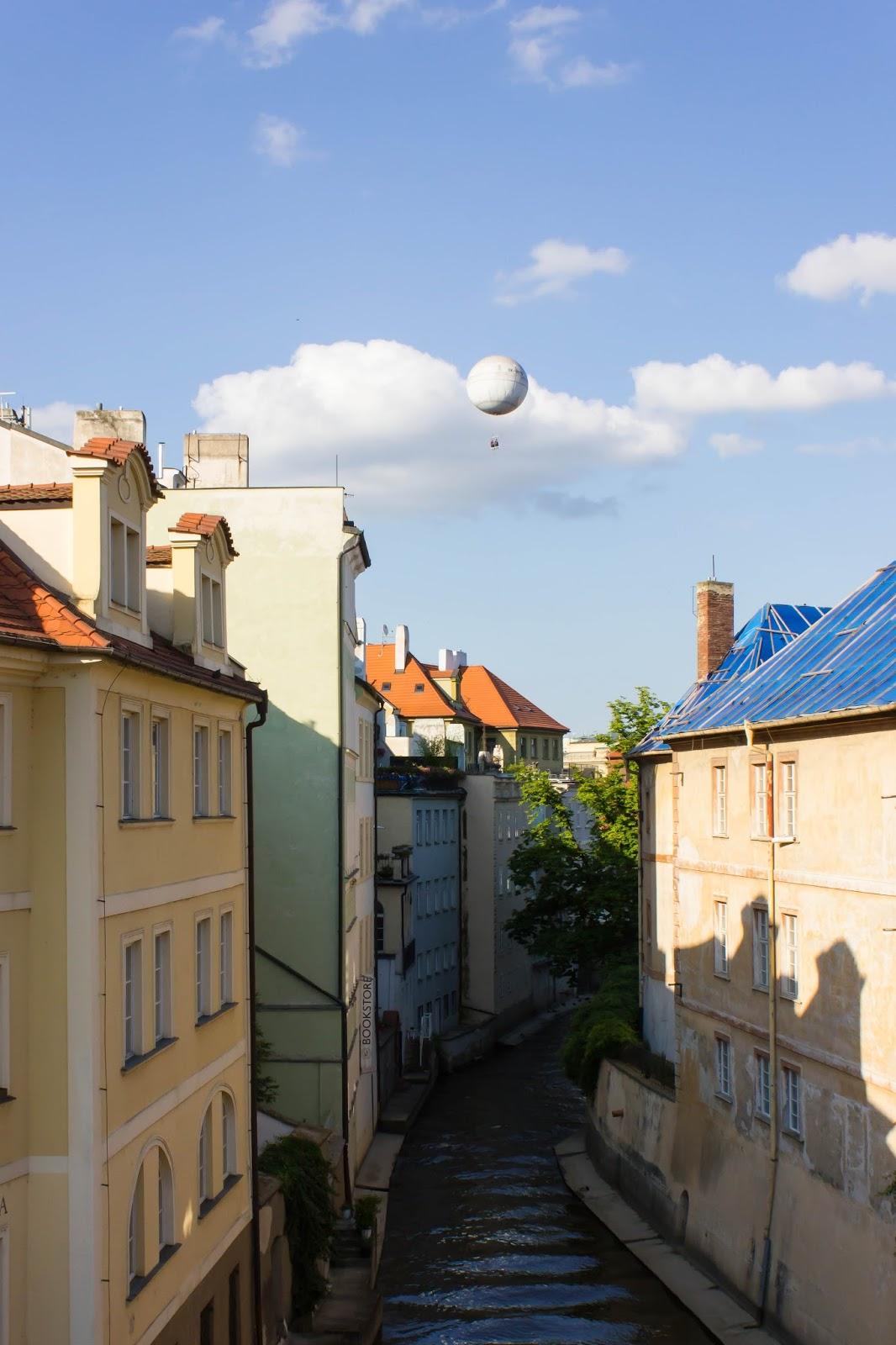 Прага, Чешская Республика, Воздушный шар