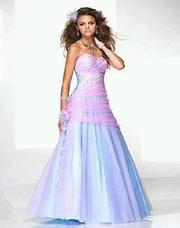 Vestidos de Novia Coloridos, parte 2