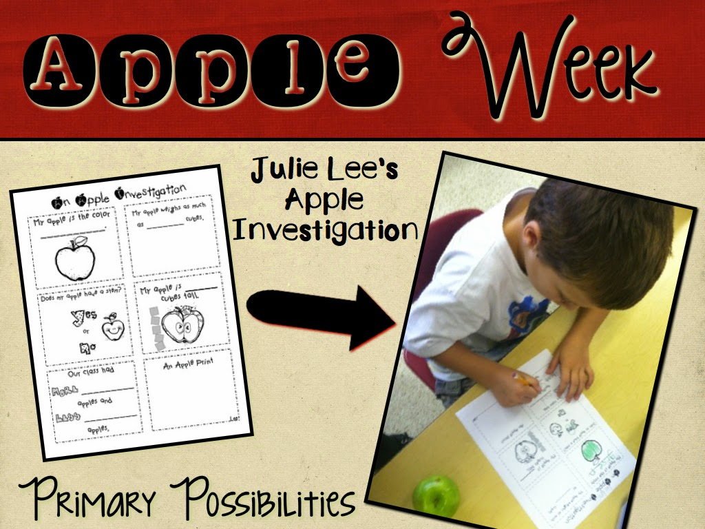http://www.teacherspayteachers.com/Product/An-Apple-Investigation-Activity-335108