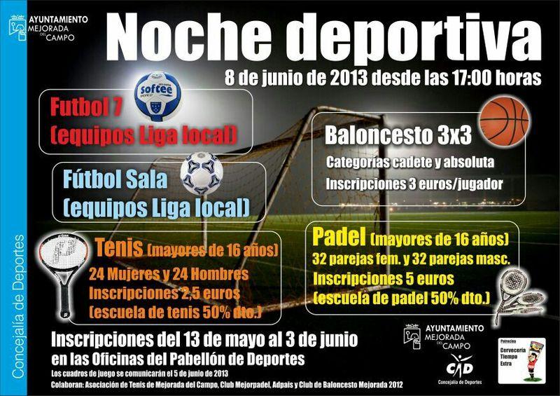 Mejorp del noche deportiva junio 2013 for Oficina 2038 bankia