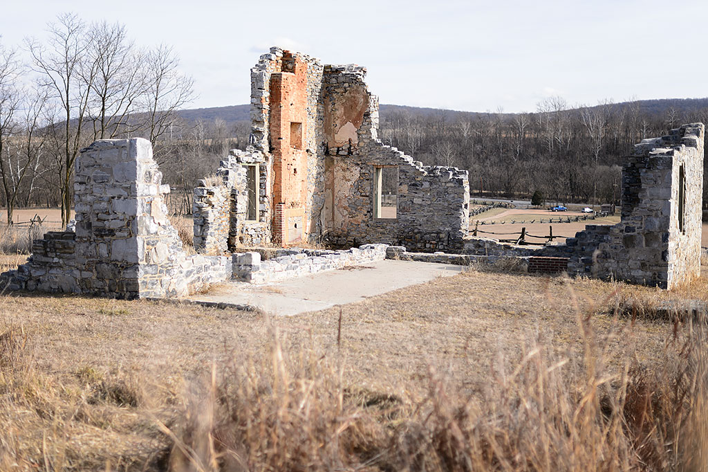 Allstadt Farm House ruins
