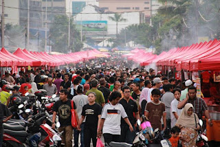 jaga hati di bazar ramadhan
