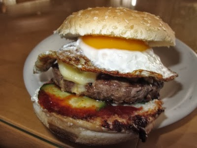 Sunny Side Up auf Burger Tuesday