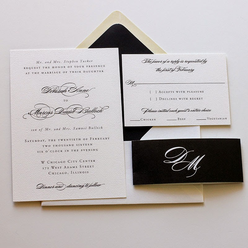 Elegant wedding invitations blush paperie and of course all of our digital wedding invitation suites come with belly bands for the most lovely presentation for your guests stopboris Images