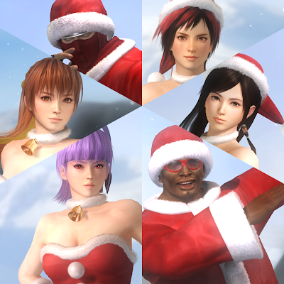 Dead Or Alive 5 Santa DLC - We Know Gamers