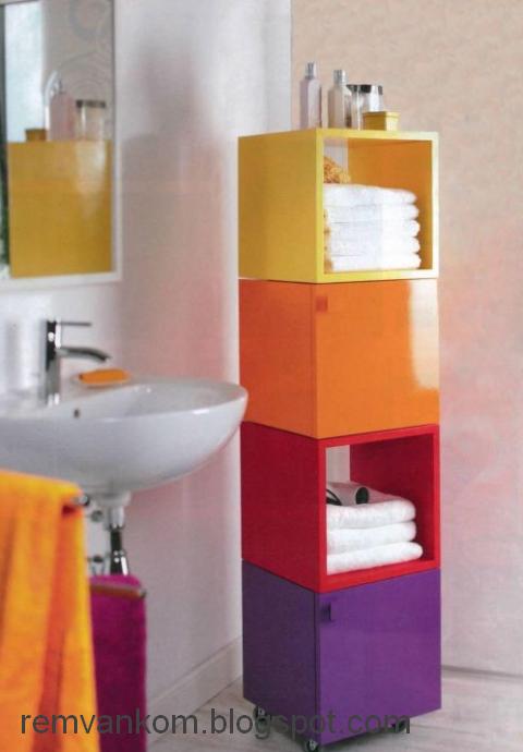 Шкафы в ванную комнату фото