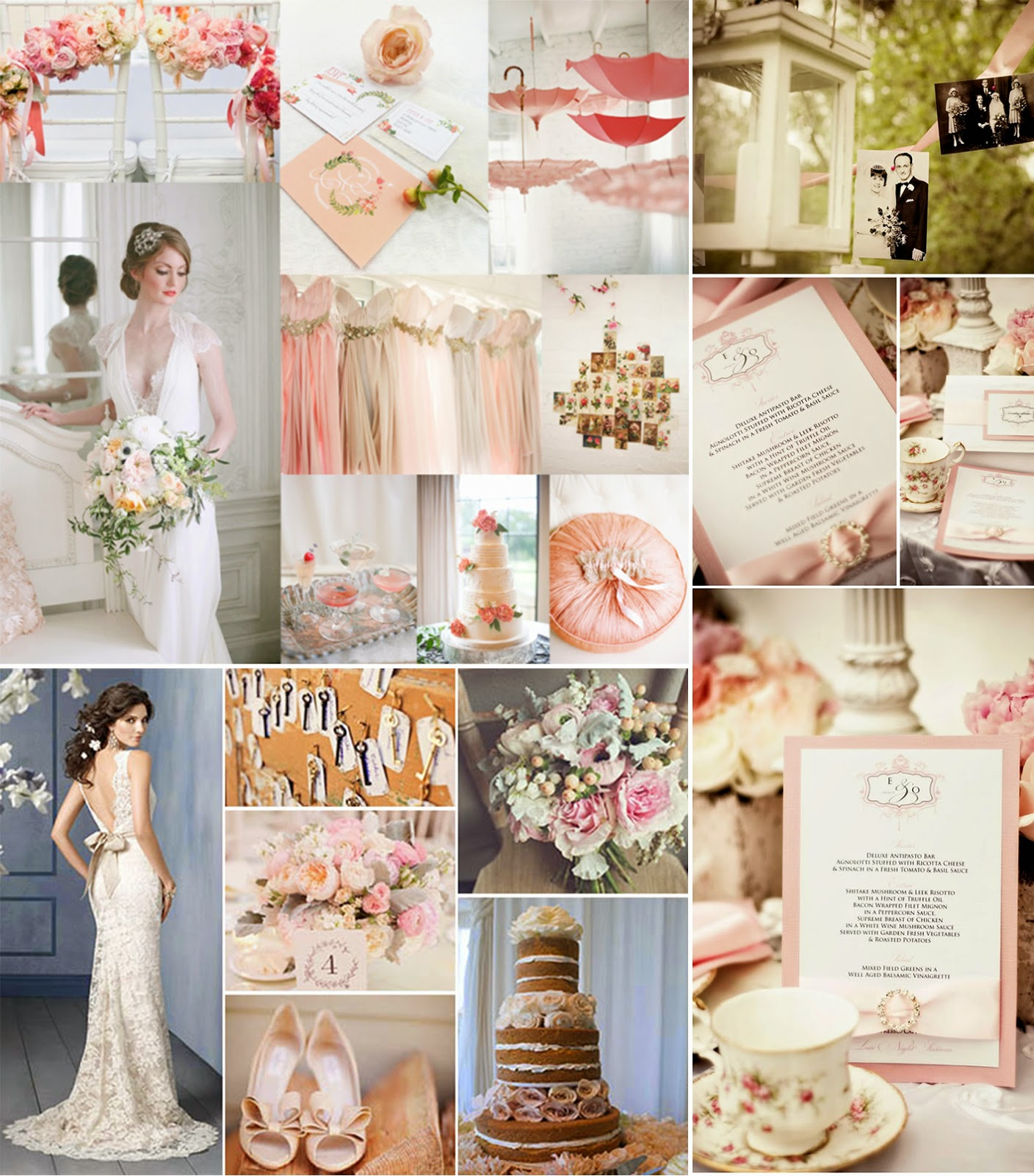 Top 1 Shabby Chic Pink And White Wedding