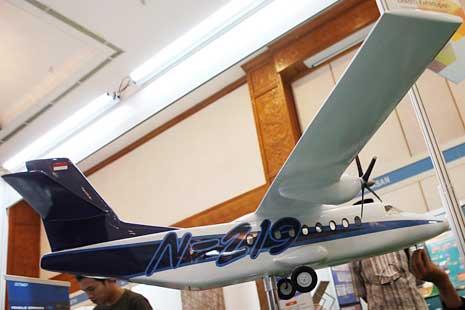 4 Maskapai Siap Beli 200 Unit Pesawat N219 Buatan PT. Dirgantara Indonesia