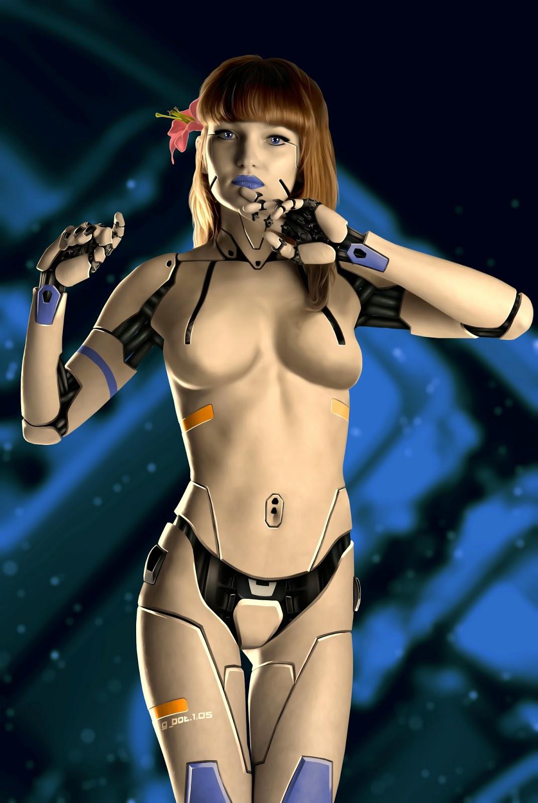 Робот девушка для секса фото 20 фотография