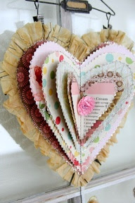 Scrap Paper Heart