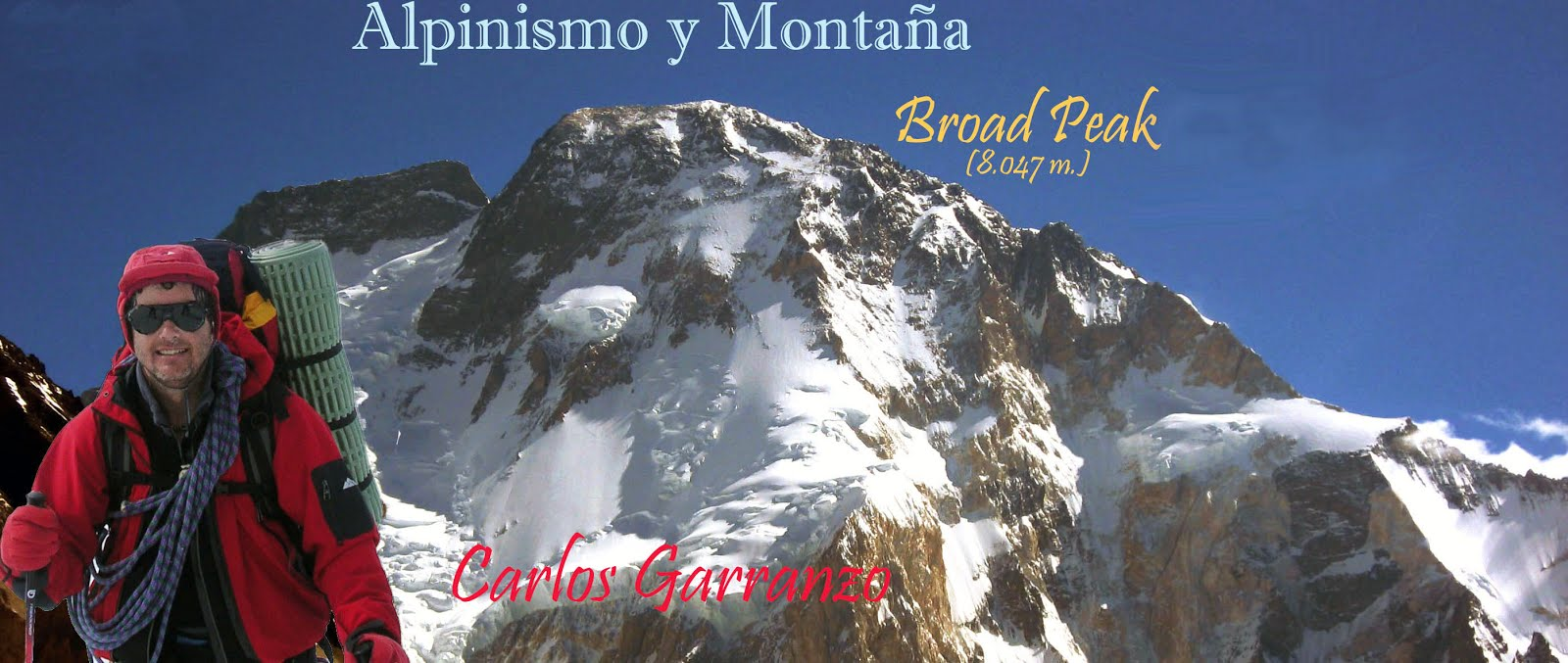 ALPINISMO Y MONTAÑA - CARLOS GARRANZO. BROAD PEAK 2014