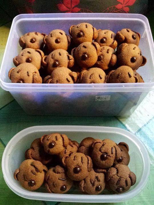 Resep Choco Chips Cookies Lucu Renyah