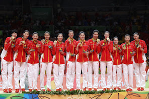 CHINA MEDALLA DE ORO RÍO 2016