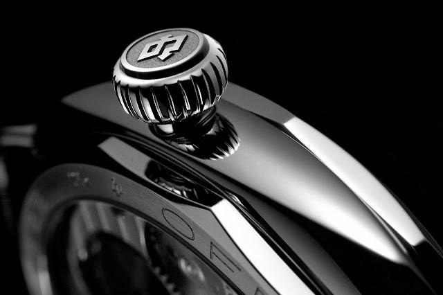 Panerai Radiomir Platino 47mm Watch detail crown