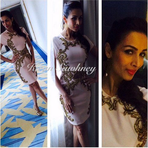 Malaika Arora in Monisha Jaising at Dolly Ki Doli Promotions Dubai