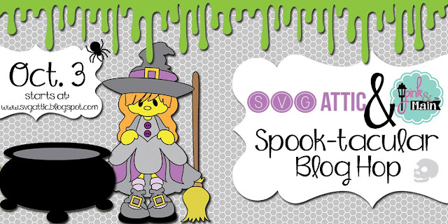 ScrappyScrappy: SVG Attic - Pink & Main Spook-tacular Blog Hop #scrappyscrappy #pink&main #pinkandmain #svgattic #svg #cutfile #diecut #papercraft #stamp #copic #halloween #trickntreat #smellmyfeet