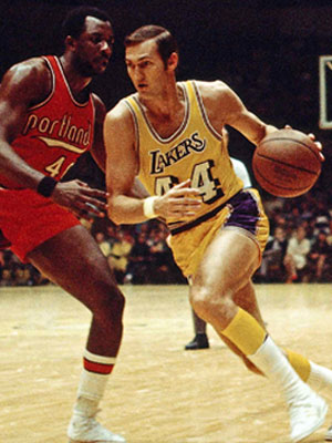 Nba logo before jerry west jerry west logo