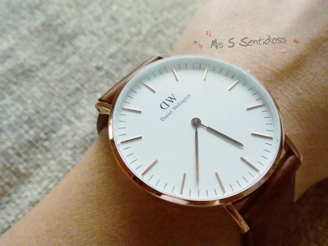 Mi reloj de Daniel Wellington