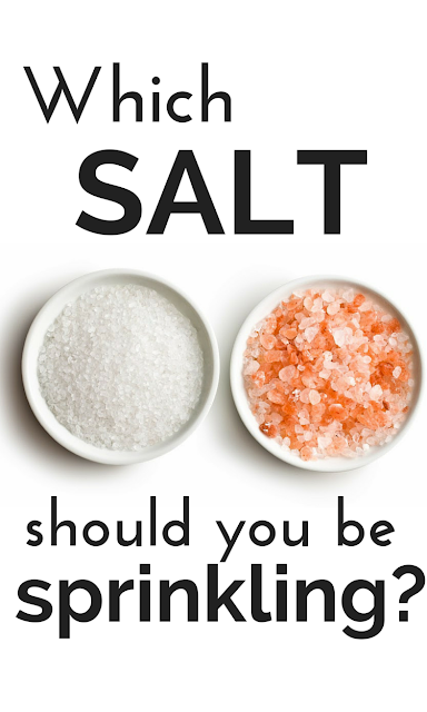 Create this simple switch at your house today! Toss out white, refined table salt for pink, unrefined salt for major health benefits and great taste. Tap here for which one to buy and the many reasons why.