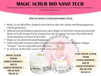 MAGIC SCRUB BIO NANO