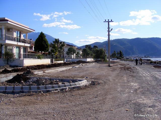 Fethiye To Çalış New Harbour Road