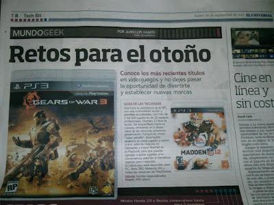 EPIC FAIL - Diario El Universal de Mexico.
