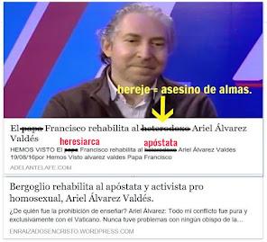 Bergoglio deja suelto asesino de almas y activista pro homosexual  en Argentina .