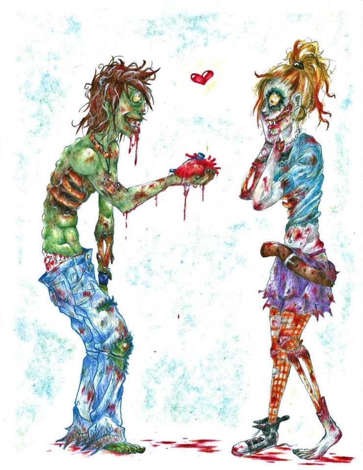 yobailopogo Hoy es Martes Trece Hoy toca post de zombies
