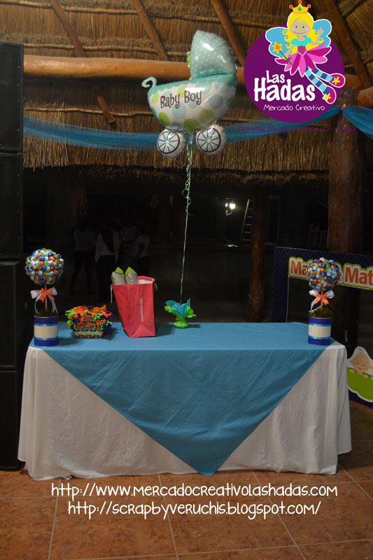 Mesa de regalos baby shower sears