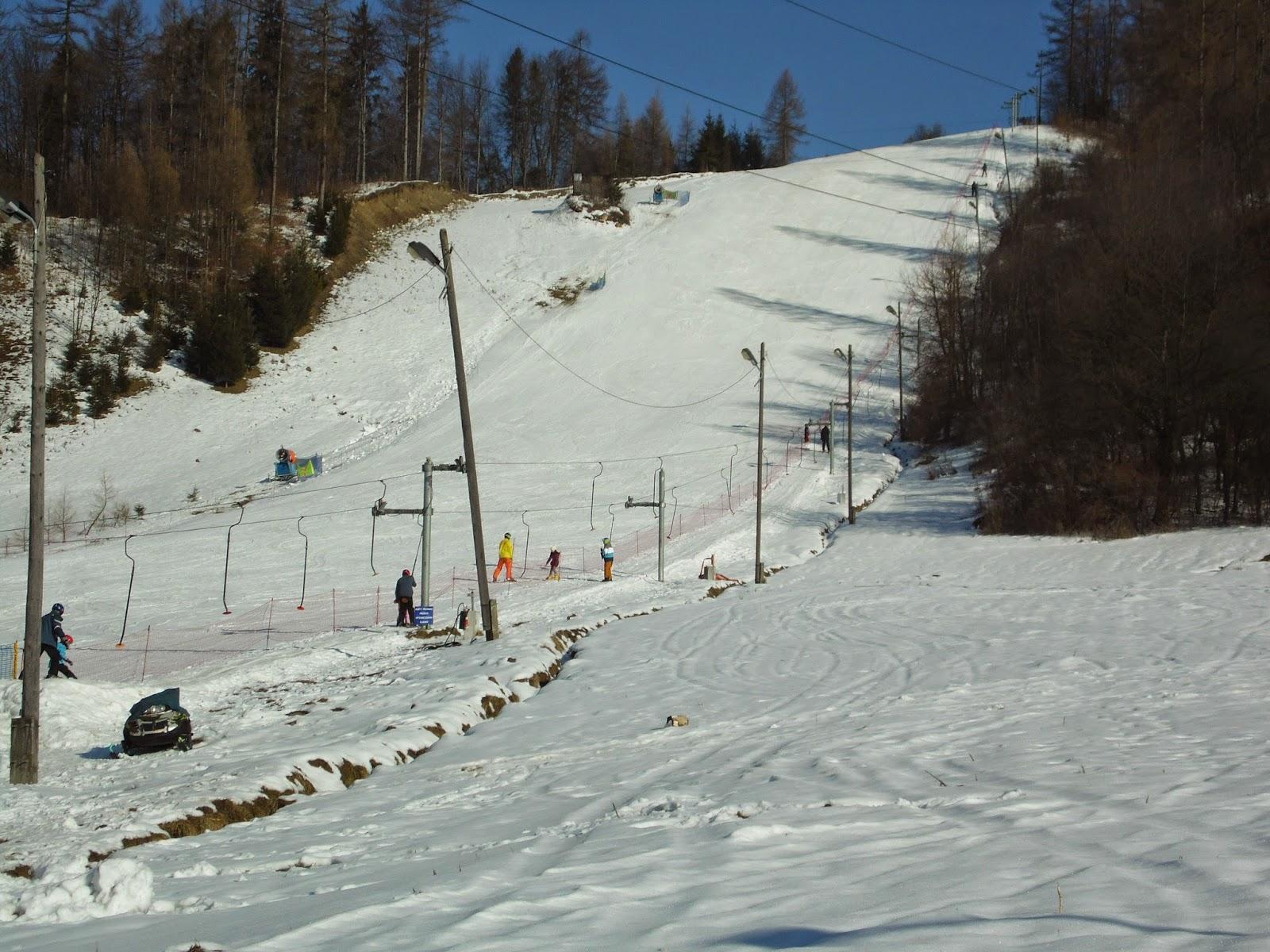 Krościenko wyciąg narciarski Stajkowa