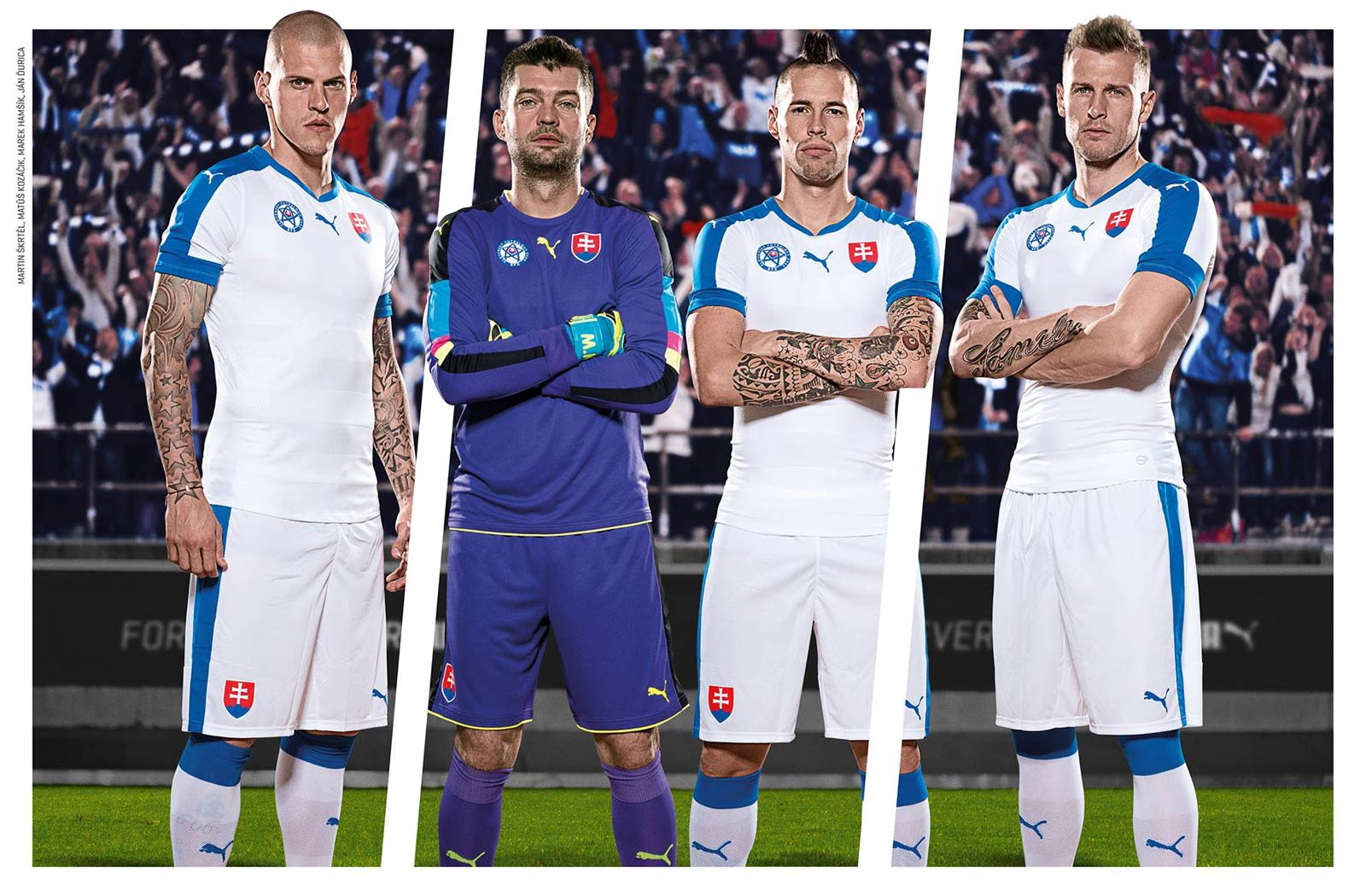 d16ae8d7779 Discount Slovakia Euro 2016 Home Kit Released