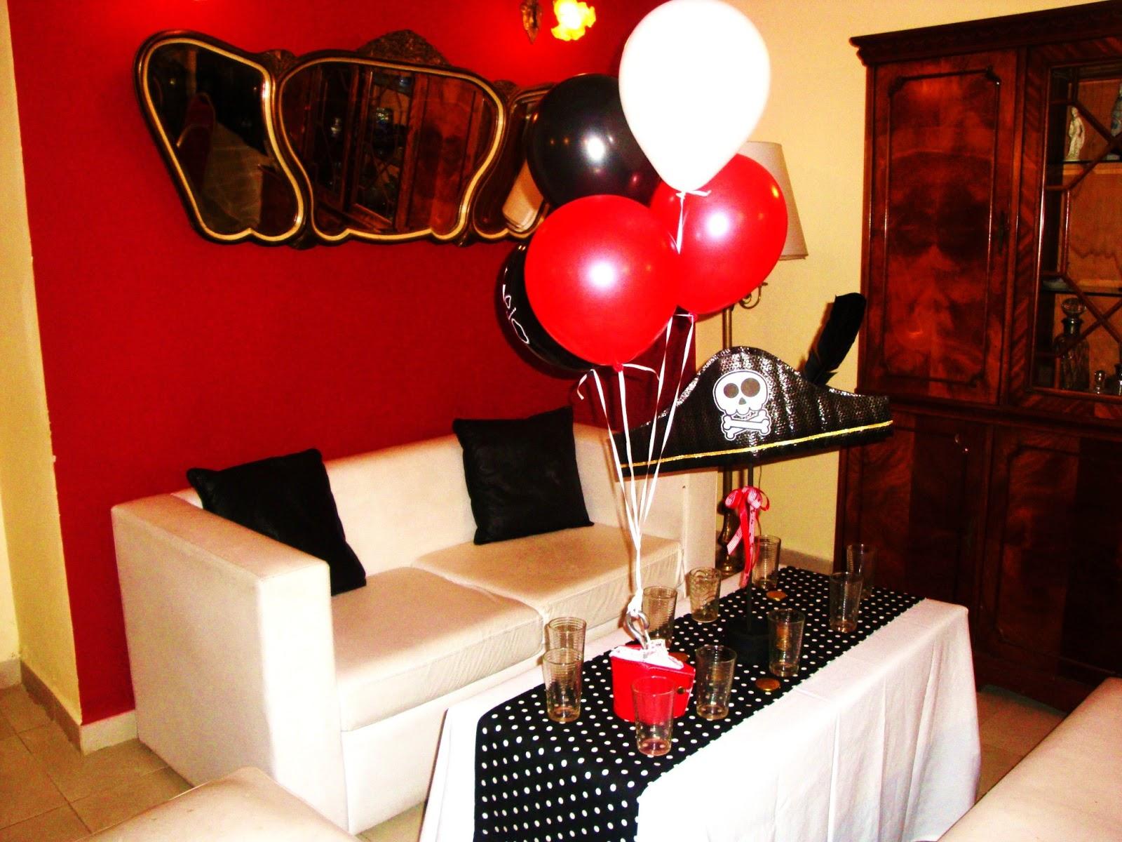 : Cumpleaños tematico de piratas/ pirates themed birthday party