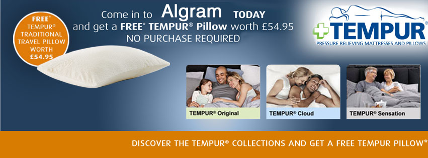 Algram Furniture & Giftware Retailer UK: TEMPUR Original ...