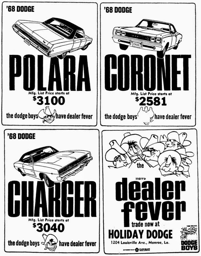 just a car guy 10 26 14 11 2 14 1938 Dodge Flatbed mopar advertising from 1968
