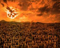 """(Allah inkârcılara) """"Yeryüzünde kaç yıl kaldınız?"""" diye sorar."""