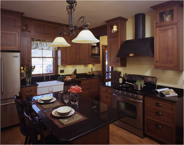 Arts and Crafts Kitchen Design 732 x 577