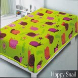 Selimut Belladona Happy Snail