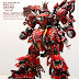 Custom Build: MG 1/100 MSN-04 Sazabi Ver. Ka Full Open Hatch Presentation
