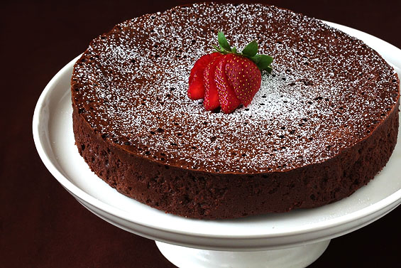 http www gimmesomeoven com flourless chocolate cake chocolate is one ...