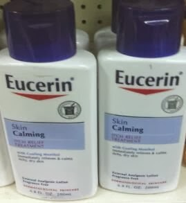 Eucerin bottle