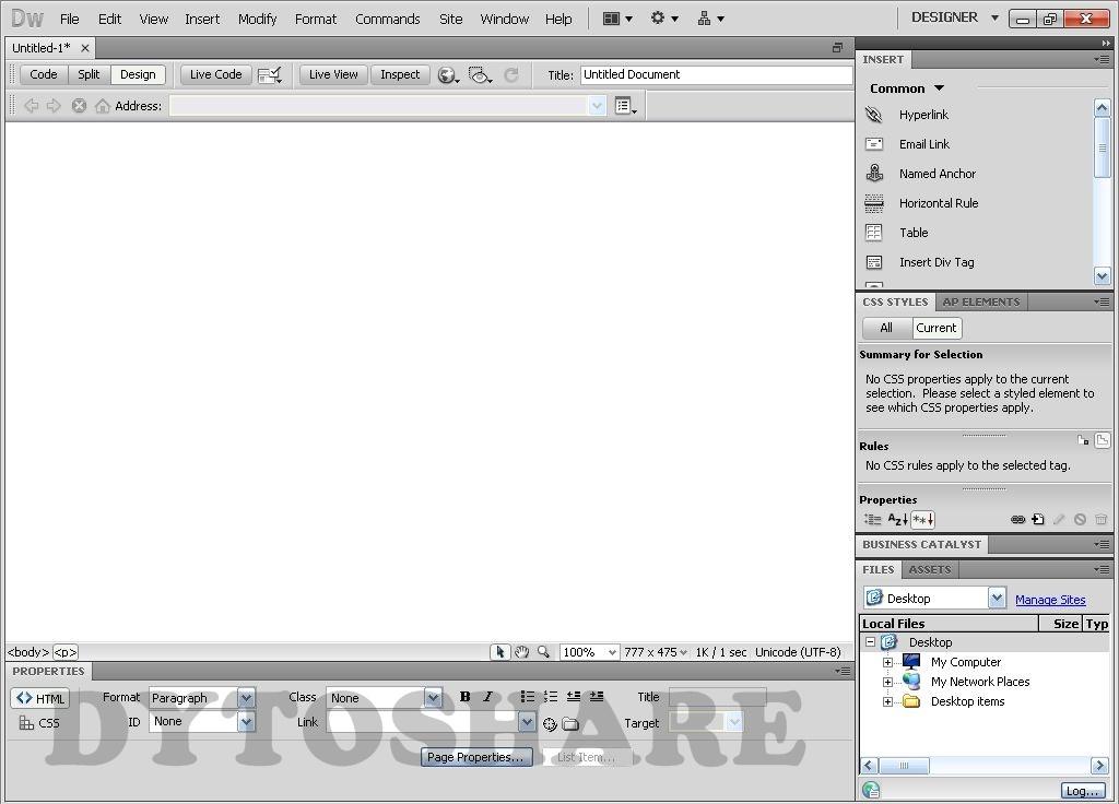 portable dreamweaver cs5 free download full version