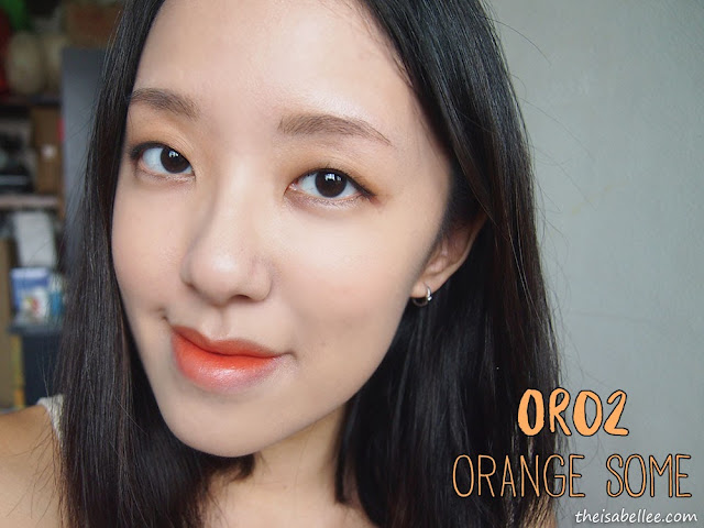The Face Shop Ink Lipquid OR02 Orange Some
