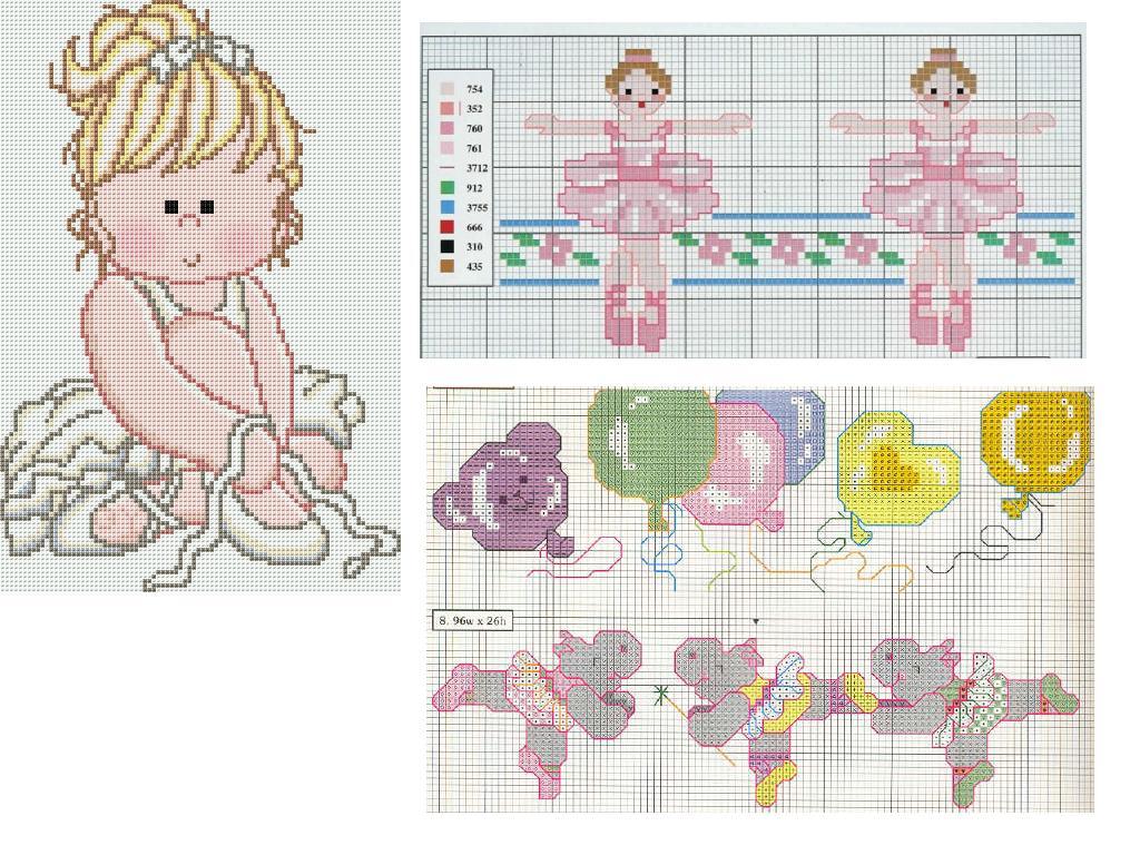 Un fil di lana gennaio 2012 for Schemi punto croce alfabeto bambini