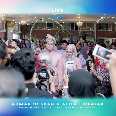 Foto & Video Majlis Resepsi Nubhan Yang Penuh Romantis