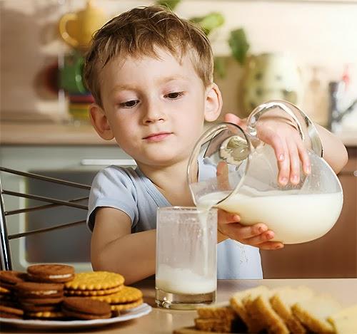 El Desayuno en los Niños