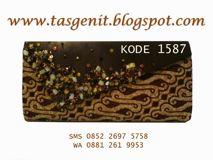 jual tas pesta, clutch bag batik, dompet cantik, souvenir khas indonesia, dompet kondangan